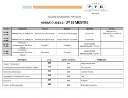 Horario 2